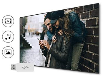 اتصال های به کار رفته در تلویزیون سامسونگ 43N5000 سری N5000