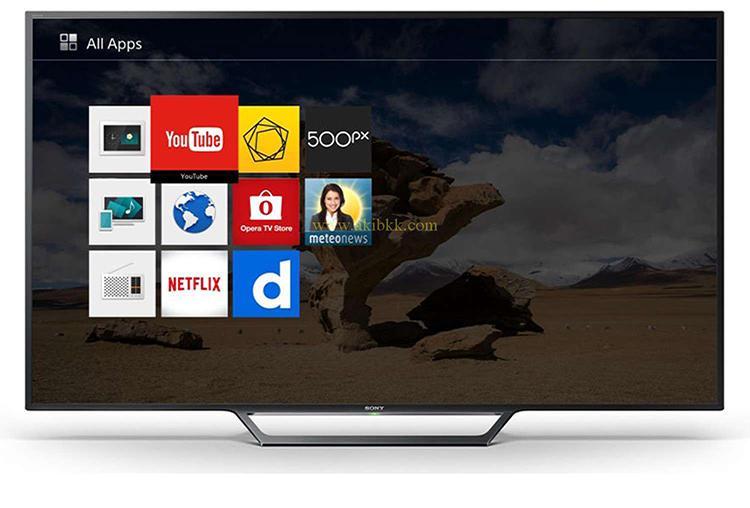 سرگرمی های هوشمند تلویزیون سونی اسمارت 40W650D