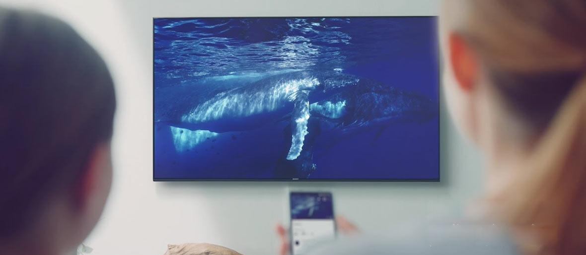 امکانات اسمارت تلویزیون سونی 49X7000F سری X7000F