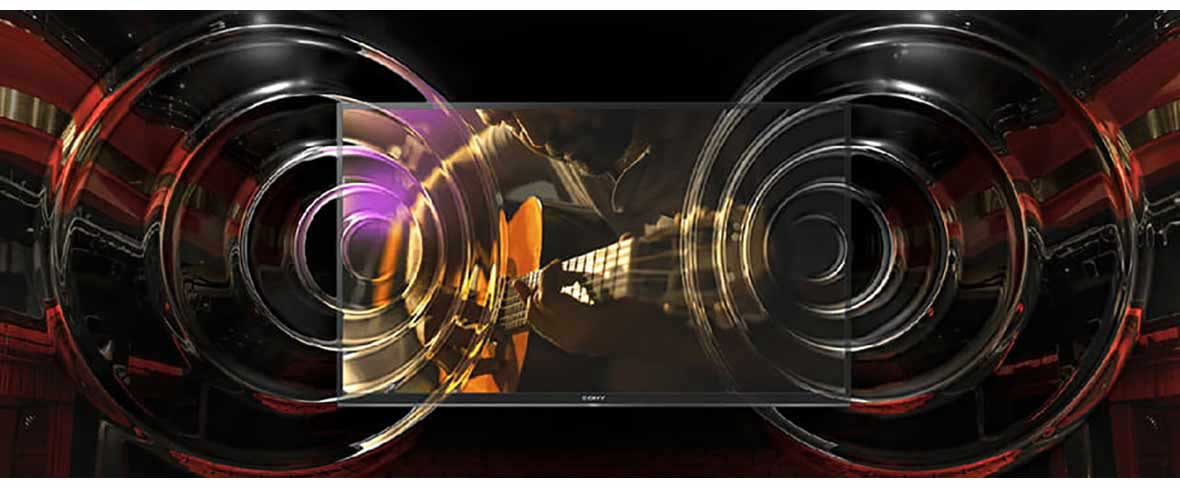 فناوری BRAVIA تلویزیون سونی 49X7077F سری X7077F