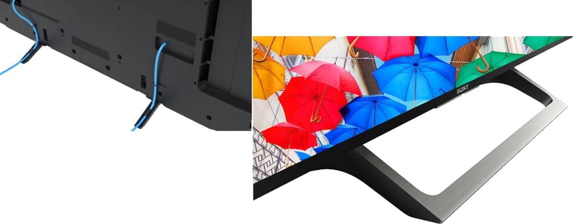 دیزاین تلویزیون سونی ۴۳X8000E لوکس و جذاب