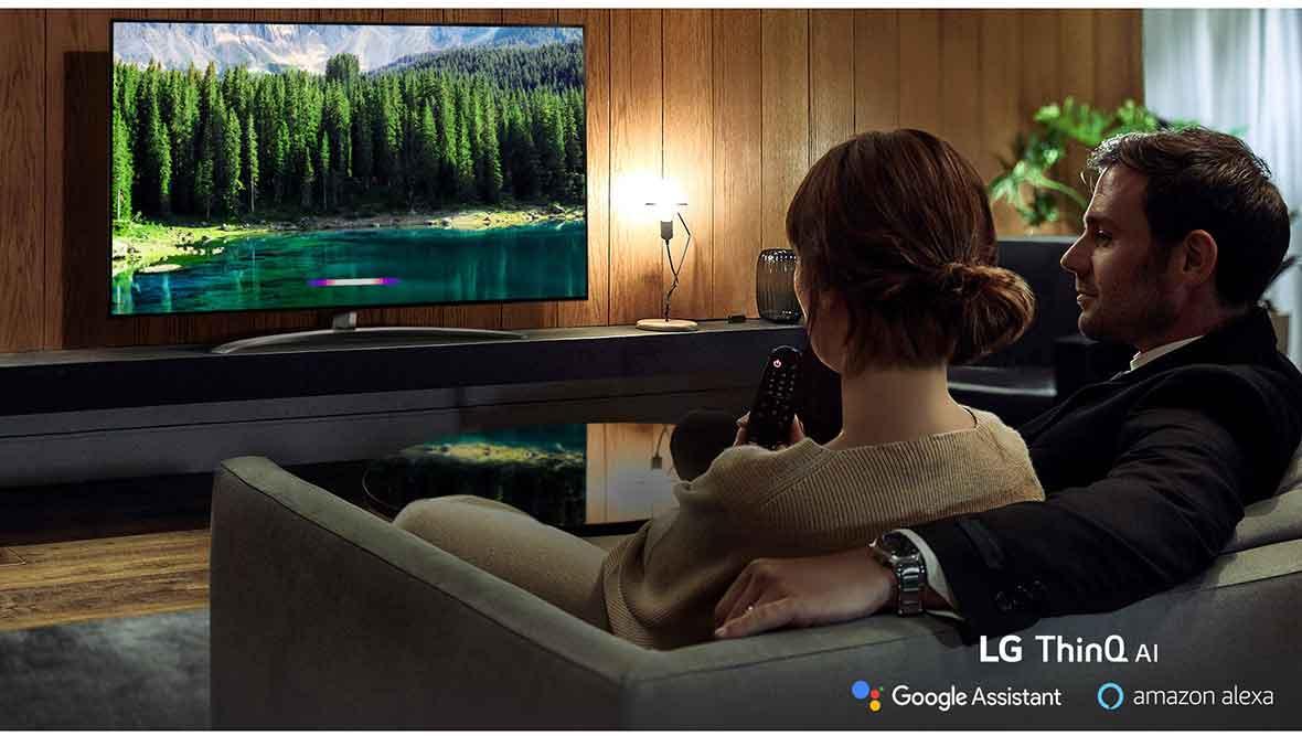 سیستم عامل و ارتباطات تلویزیون اسمارت ال جی