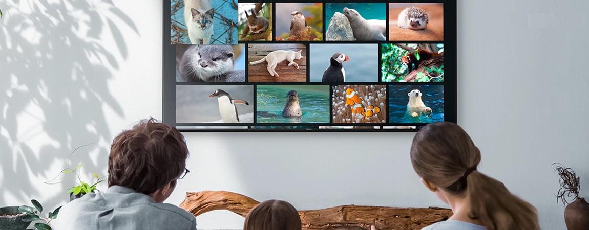 بستر نرم افزاری تلویزیون سونی 55X7000G سری X7000G