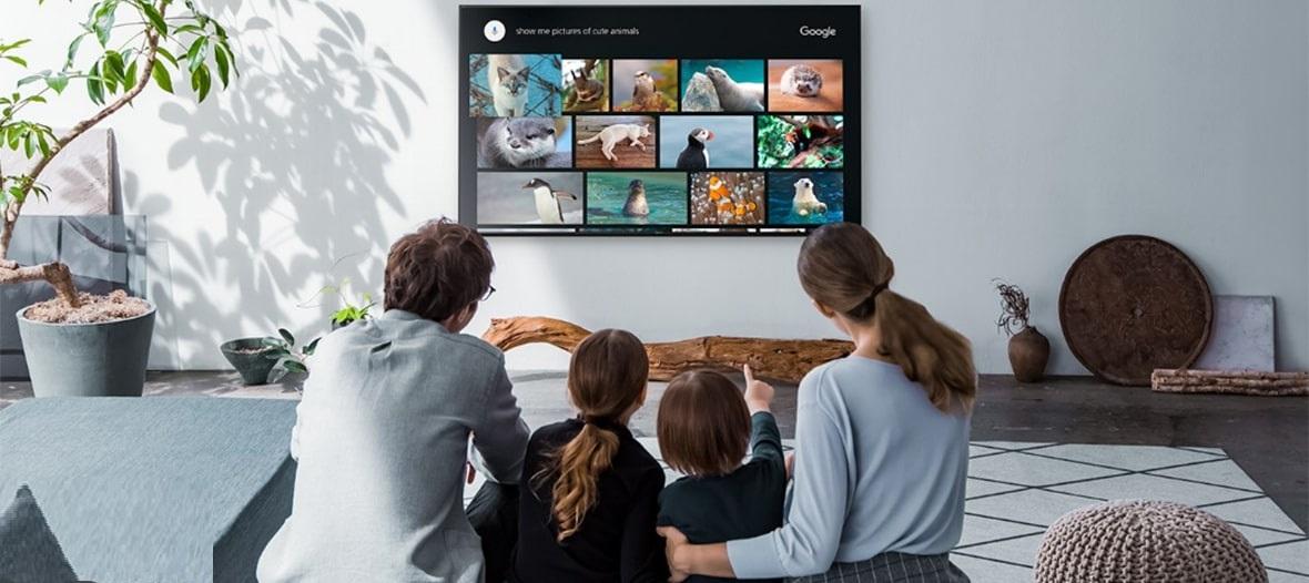 تلویزیون اسمارت 49W800G با سیستم عامل اندروید