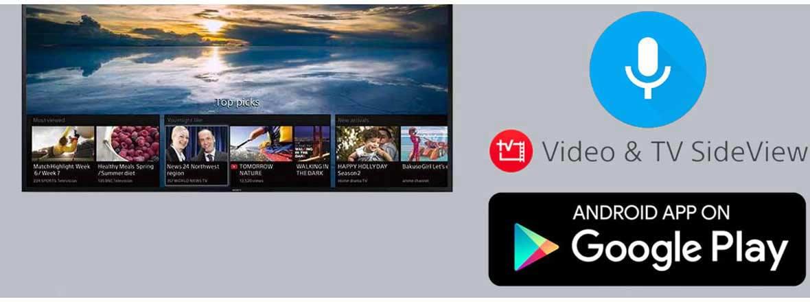 سیستم عامل و ارتباطات تلویزیون سونی 65X8500G سری X8500G
