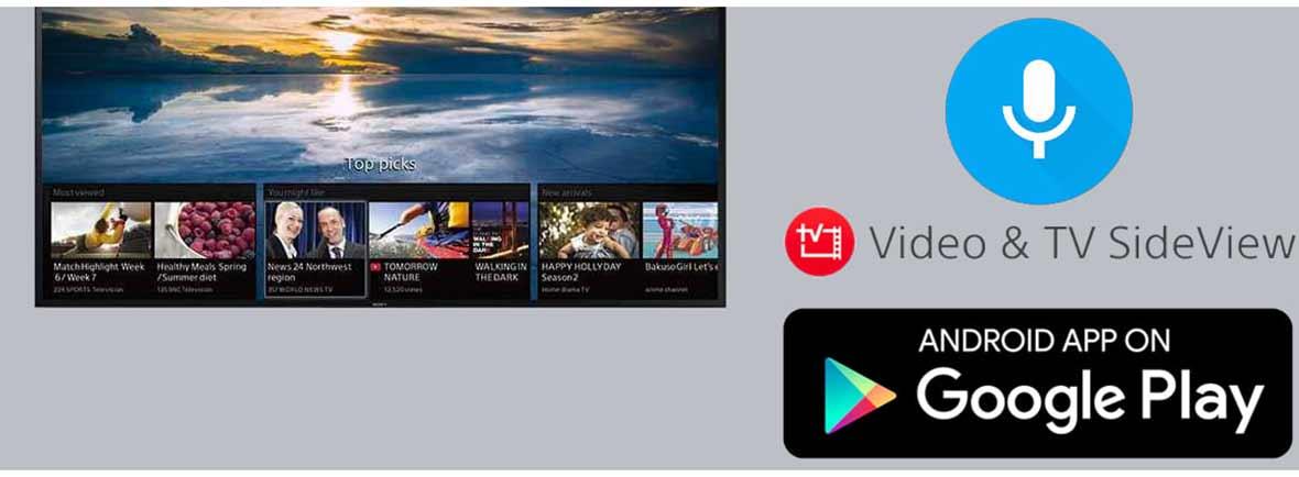 سیستم عامل و ارتباطات تلویزیون سونی 75X8000G سری X8000G