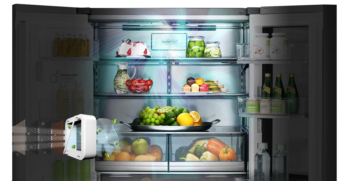 فیلتر بهداشتی +HYGIENE FRESH یخچال و فریزر ساید بای ساید ال جی LG X33