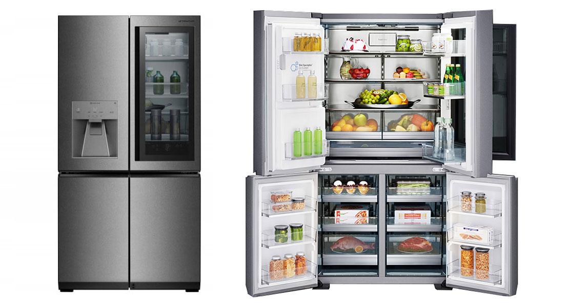 یخچال و فریزر ساید بای ساید ال جی LG X33
