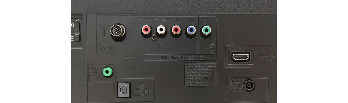 ارتباطات تلویزیون سونی 32R300