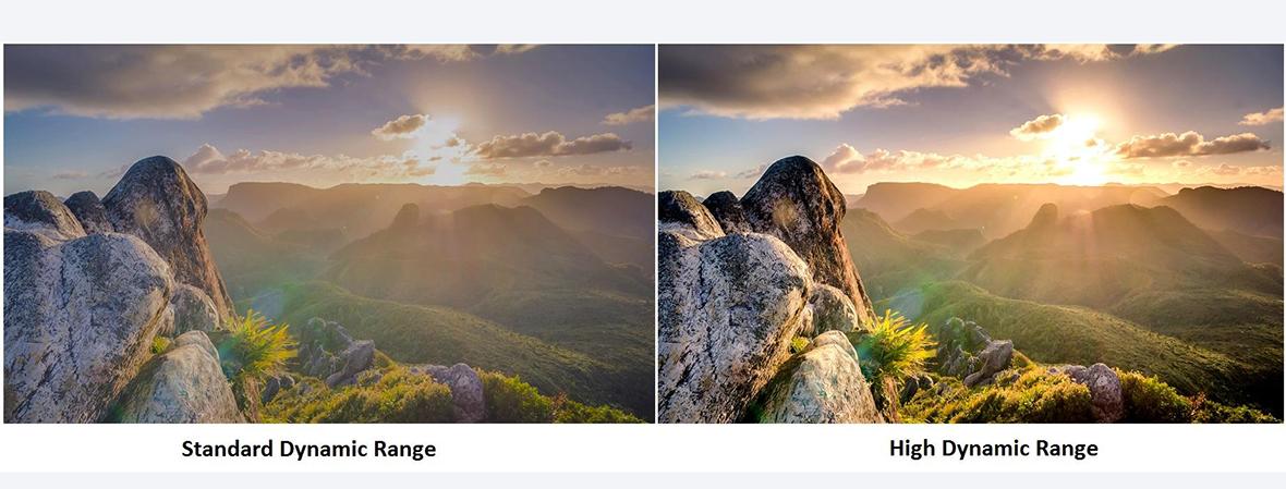 تصاویر زنده و دقیق با استاندارد تصویر HDR