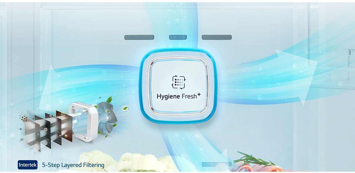 فیلتر بهداشتی HYGIENE FRESH یخچال فریزر ال جی اینستا ویو مدل GC-X247CSAV
