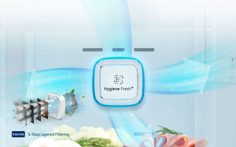 HYGIENE FRESH+™ یخچال ساید بای ساید ال جی مدل X29